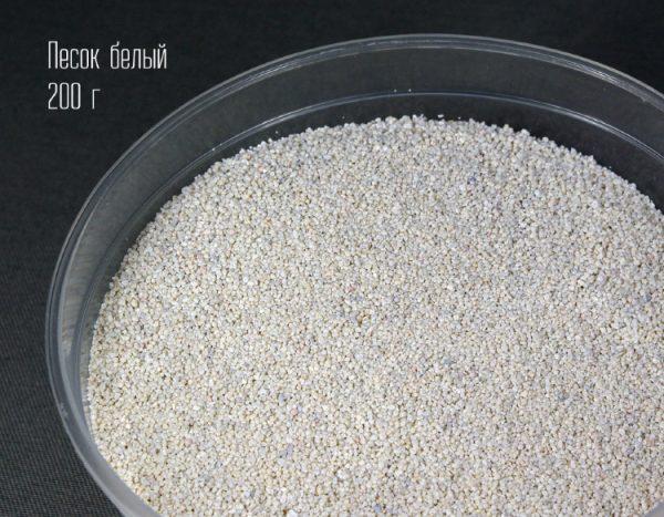 Песок для формикария белый