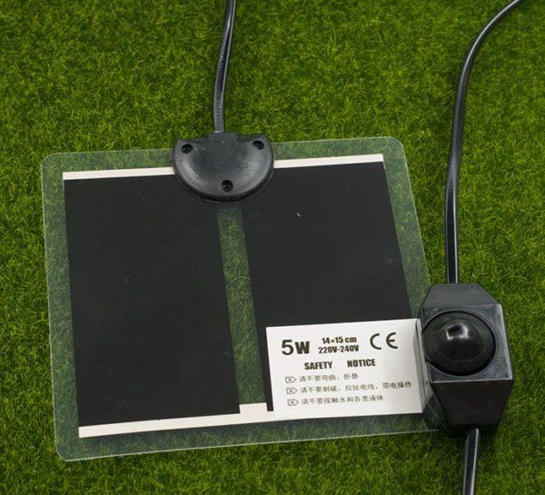 Термоковрик с регулятором 5Вт 14x15