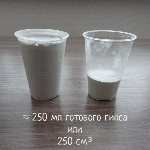 Гипс для заливки формикария 250г