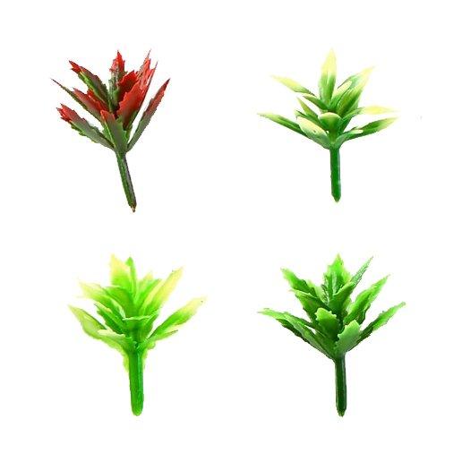 Кустарник (4 шт, разные цвета)