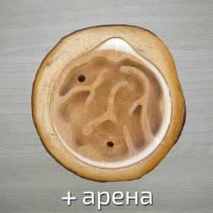 Формикарий деревянный с ареной